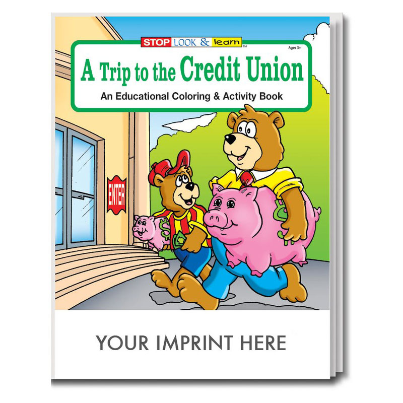 A Trip to the Credit Union Coloring & Activity Book