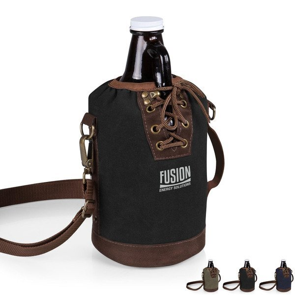 Growler Canvas Tote w/ Growler