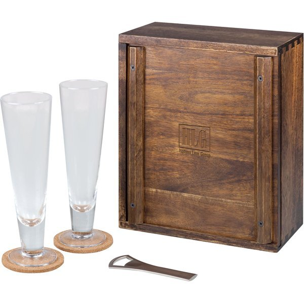 Pilsner Beer Gift Set for Two