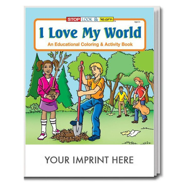 I Love My World Coloring & Activity Book