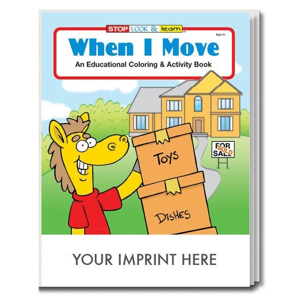 When I Move Coloring & Activity Book
