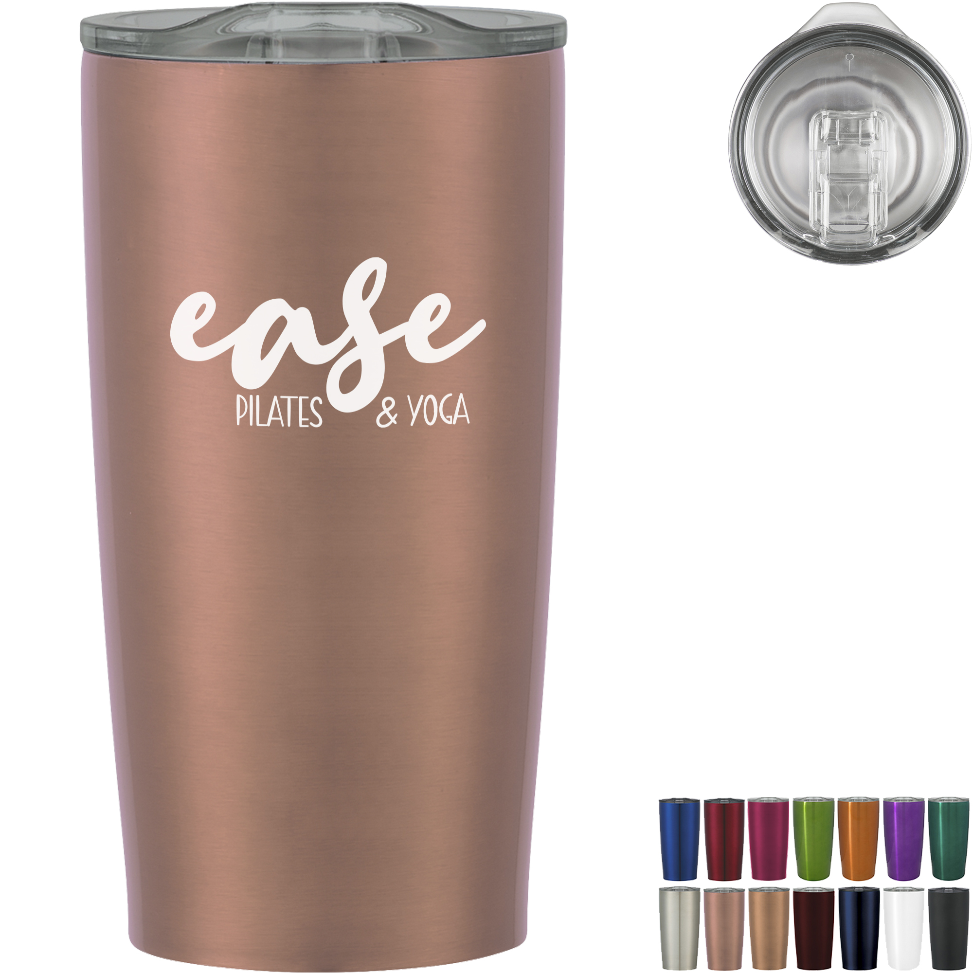 Himalayan Double Wall Stainless Steel Tumbler, 20oz.