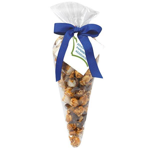 Midnite Munch Popcorn Cone Gift Bag, Small