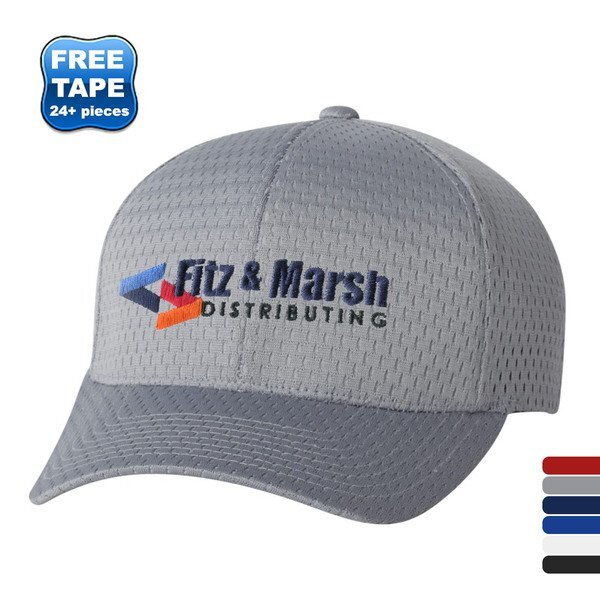 Flexfit® Athletic Mesh Constructed Fitted Cap