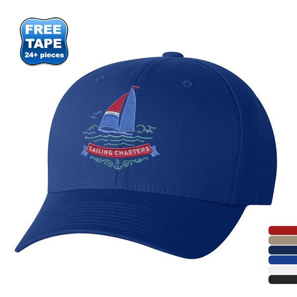 Flexfit® V-Flex Twill Constructed Fitted Cap