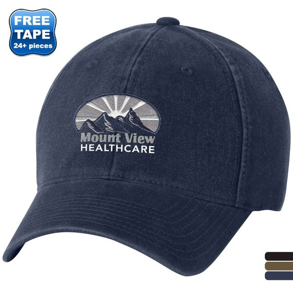 Flexfit® Garment Washed Unconstructed Fitted Cap