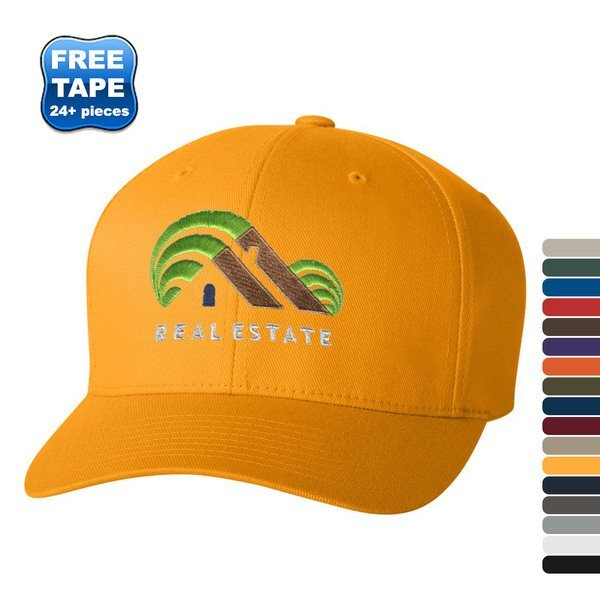 Flexfit® Wooly Twill Constructed Fitted Cap