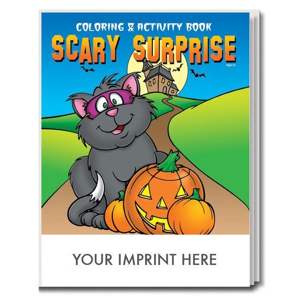 Scary Surprise Coloring & Activity Book | Promotions Now