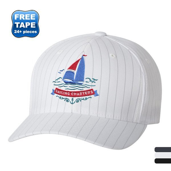 Flexfit® Pinstripe Constructed Fitted Cap
