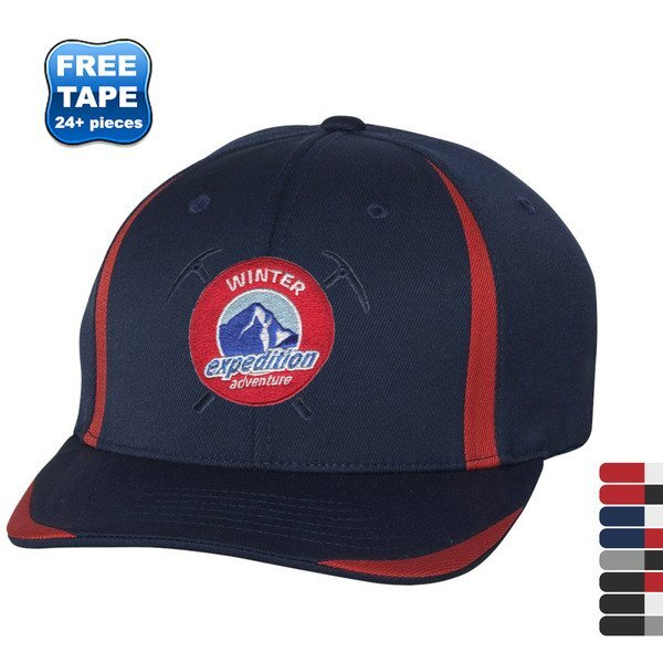 Flexfit® Cool & Dry Double Twill Constructed Fitted Performance Cap