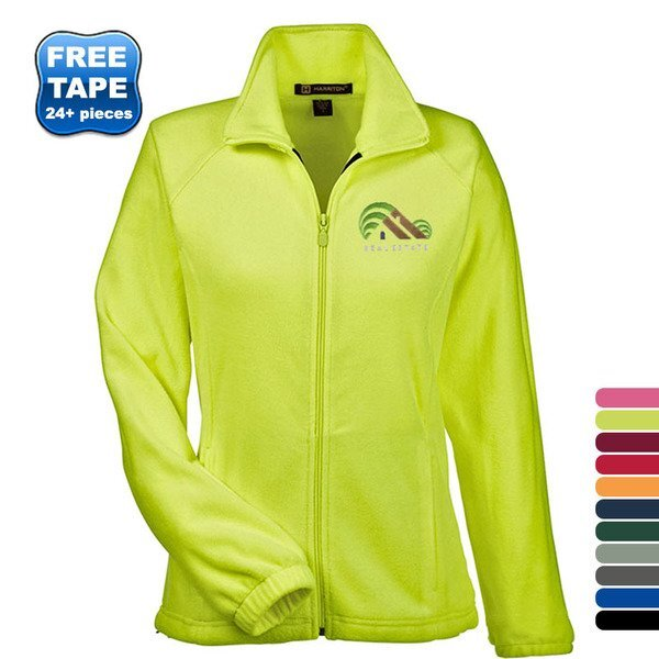 Harriton® Fleece Full Zip Ladies' Jacket