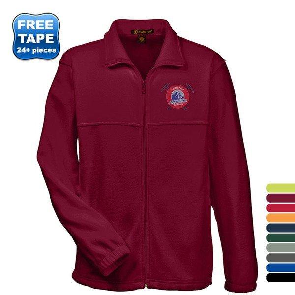 Harriton® Fleece Full Zip Men's Jacket
