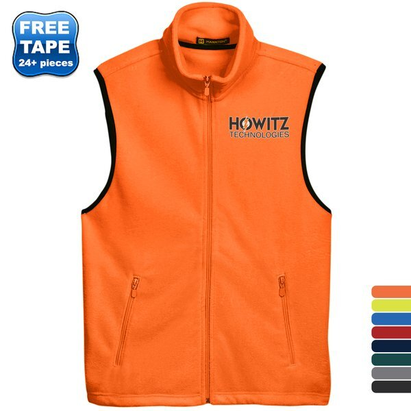 Harriton® Fleece Unisex Vest