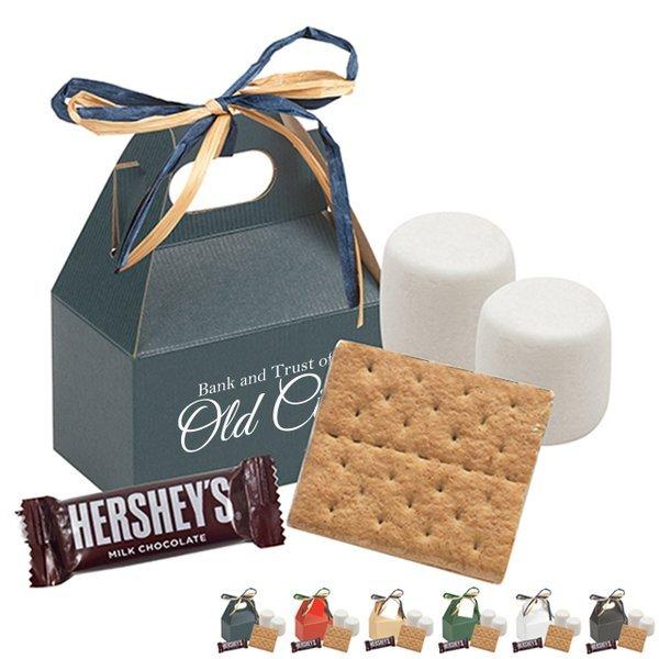 S'mores Mini Kit Gable Gift Box