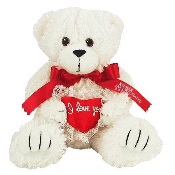 "I Love You Plush Bear, 8"""