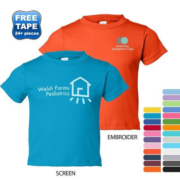 Rabbit Skins® Cotton Jersey Toddler T-Shirt