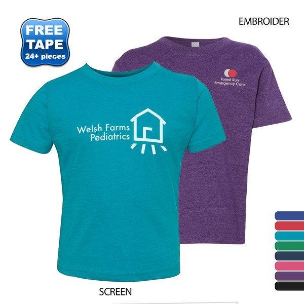 Rabbit Skins® Vintage Toddler T-Shirt
