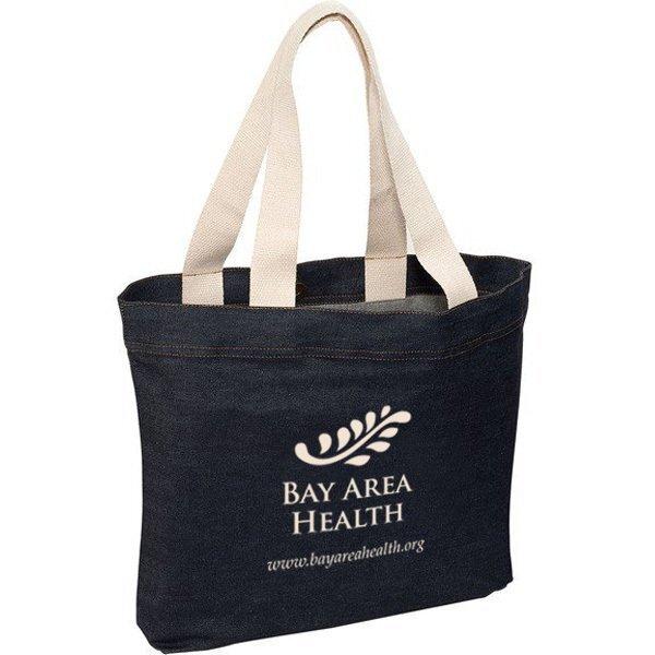 Regency Denim Tote Bag