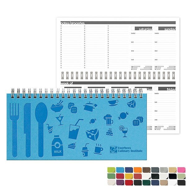 """Meal Planner Journal, 8-1/2"""" x 4"""""""