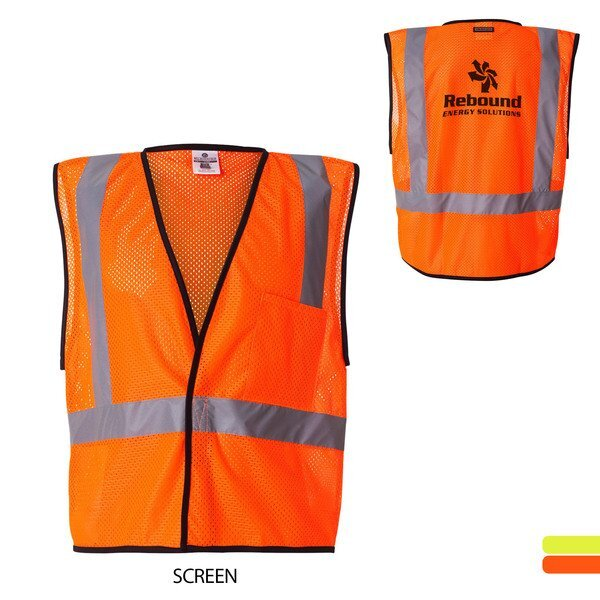 ML Kishigo® Economy Mesh Safety Vest with Velcro Closure