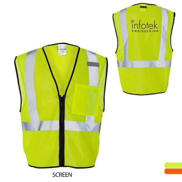 ML Kishigo® Economy Mesh Safety Vest with Zipper Closure