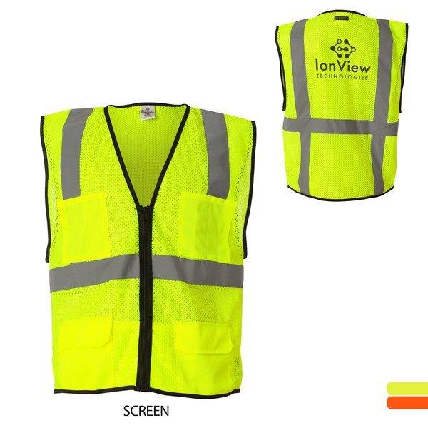 ML Kishigo® Economy Mesh Safety Vest with Six Pockets