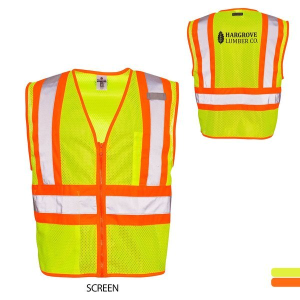 ML Kishigo® Ultra-Cool™ Mesh Contrasting Safety Vest