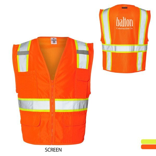 ML Kishigo® Ultra-Cool™ Mesh Solid Front Safety Vest