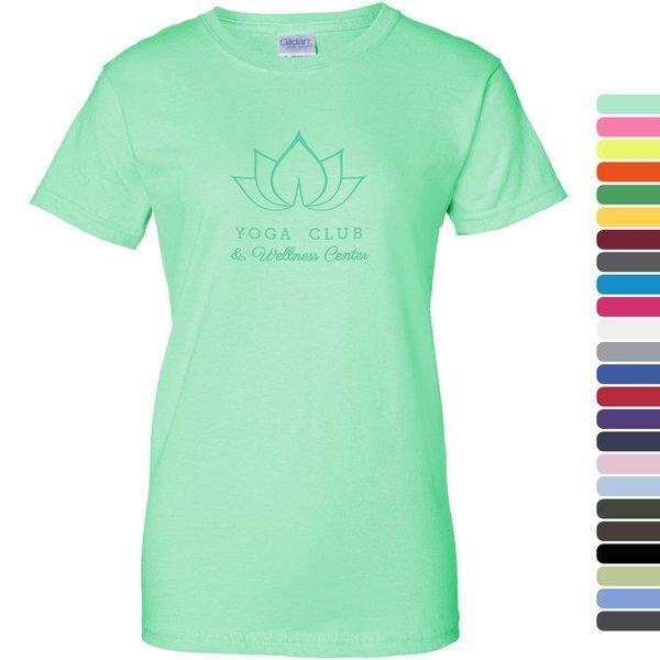 Gildan® Ultra Cotton™ 50/50  Ladies' Tee, Safety Colors