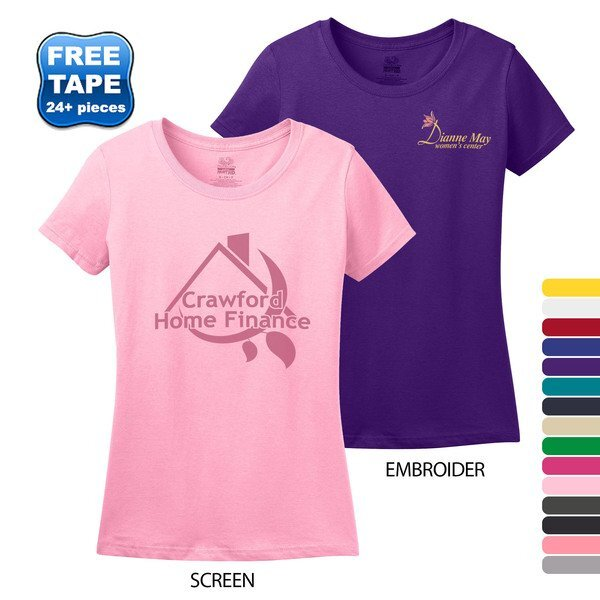 Fruit of the Loom® Heavy Cotton HD® 100% Cotton Ladies' Tee
