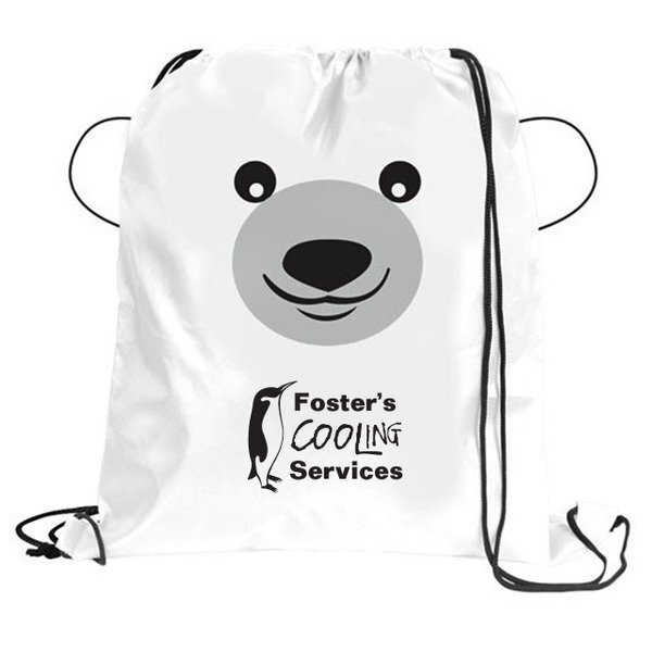 Paws N Claws Polyester Sport Pack - Polar Bear