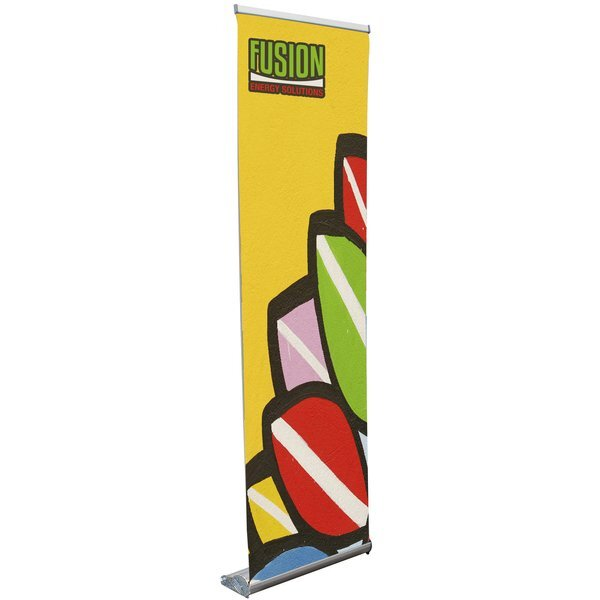 Stratus Retractor Opaque Fabric Banner Display Kit, 24""