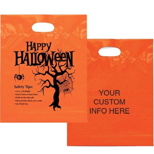 """Happy Halloween Bag, 12"""" x 15"""""""