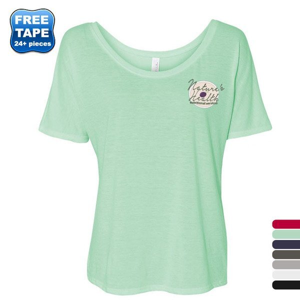 Bella + Canvas® Slouchy Solid Color Ladies' Tee