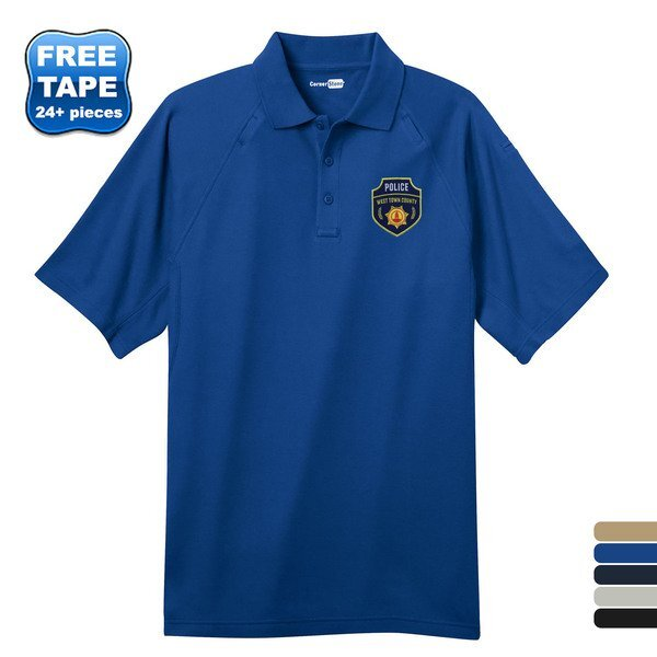 CornerStone® EZCotton™ Tactical Men's Polo