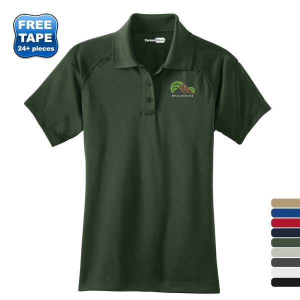 CornerStone® Select Snag-Proof Tactical Ladies' Performance Polo