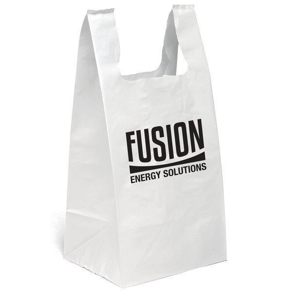 "Plastic T-Shirt Bag, 11-1/2"" x 24"""