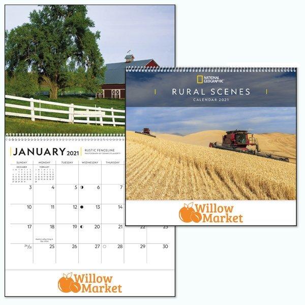National Geographic Rural Scenes Calendar