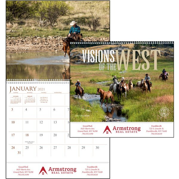 Visions of the West Calendar