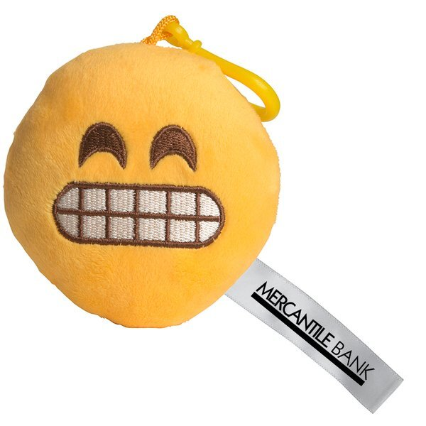 Yikes Emoji Plush Key Chain