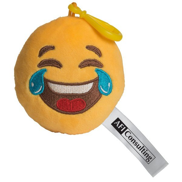 LOL Emoji Plush Key Chain
