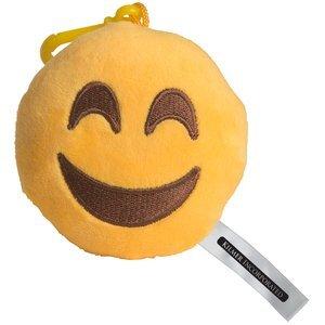 Happy Face Emoji Plush Key Chain