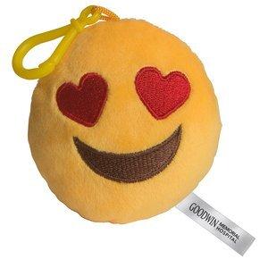 I Love You Emoji Plush Key Chain