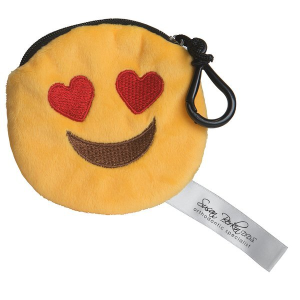I Love You Emoji Plush Pouch