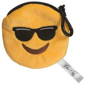 Mr. Cool Emoji Plush Pouch