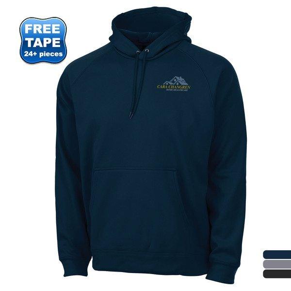 Charles River® Hexsport Polyknit Bonded Fleece Men's Kanga Hoodie