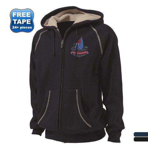 Charles River® Thermal Bonded Sherpa Men's Full Zip Hoodie