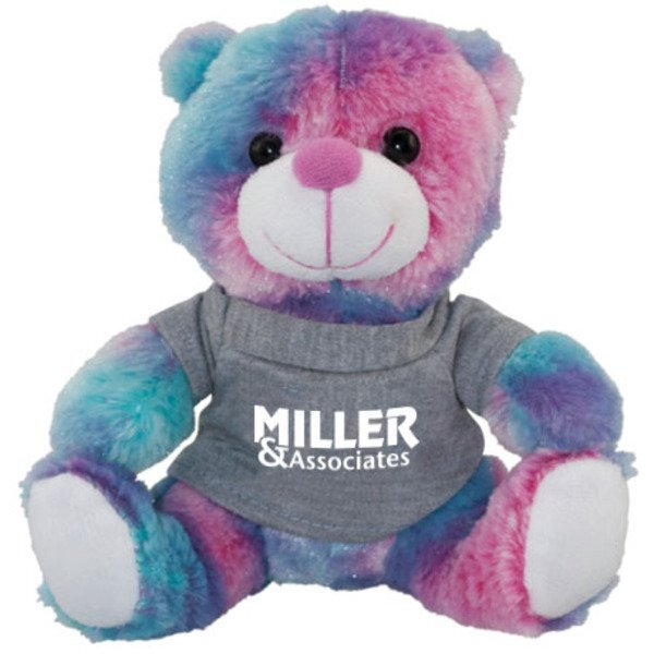 Colorful Boysenberry Plush Bear