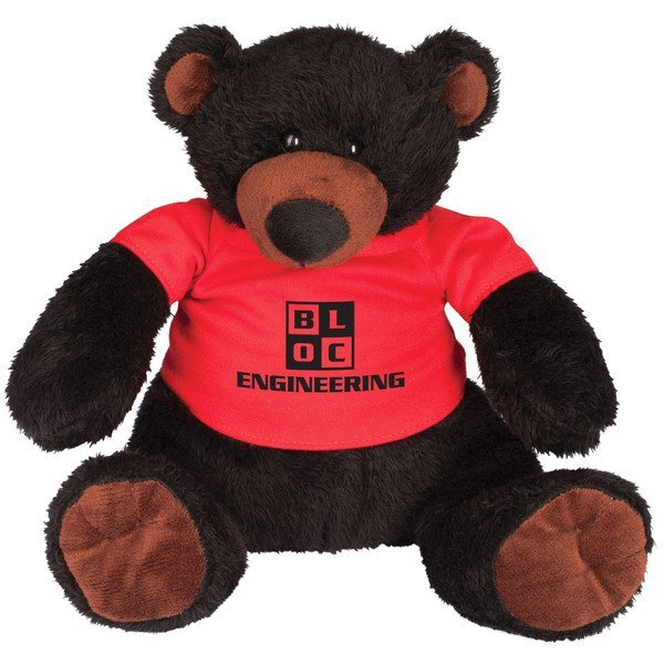Ellie Black Plush Bear
