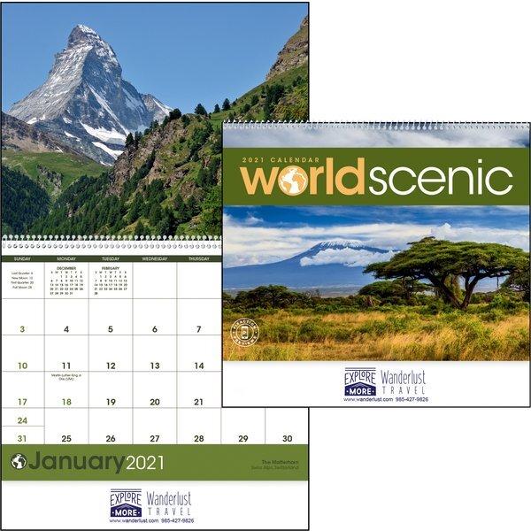 World Scenic Calendar